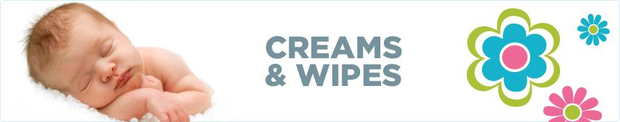 Creams & Wipes