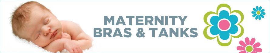 Maternity Bras & Tanks
