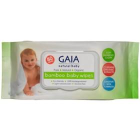 GAIA Skin Naturals Baby Bamboo Wipes