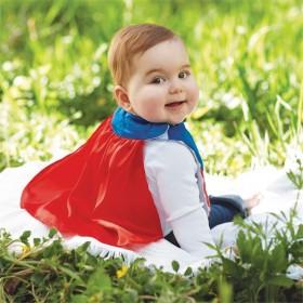 Mud Pie Superhero Bib
