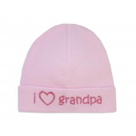 Itty Bitty Baby I Love Grandpa Cap