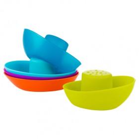 Boon Fleet Stacking Boats Bath Toy