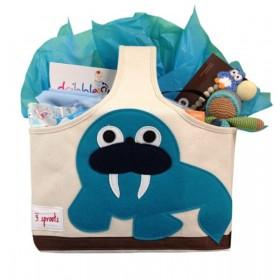 Cheeky Monkey New Baby Caddy Gift Basket