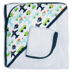 JJ Cole Collections Hooded Towel Set