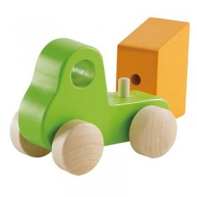 Hape Toys Little Green Dump Truck