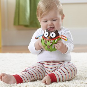 Skip Hop Explore & More Owl Roll Around Rattle