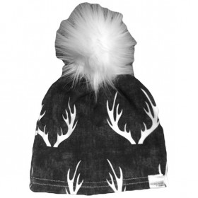 Portage and Main Antler Pom Beanie