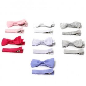 Babies and Bows Ani Mini Bow Hair Clip Set