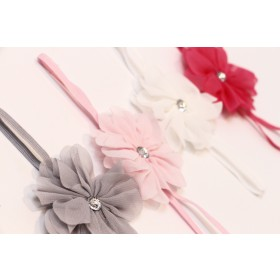 Babies and Bows Alexia Petite Flower Headband