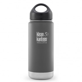 Klean Kanteen Wide Mouth 16oz Insulated Bottle