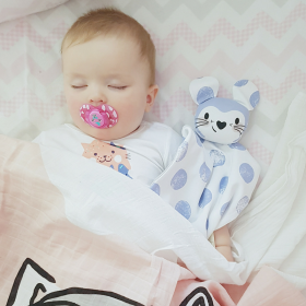 Kippins Luna Organic Comfort Toy