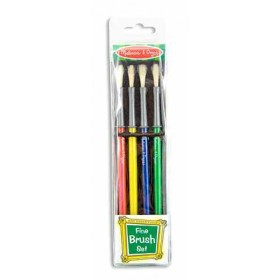 Melissa & Doug Fine Paint Brush Set