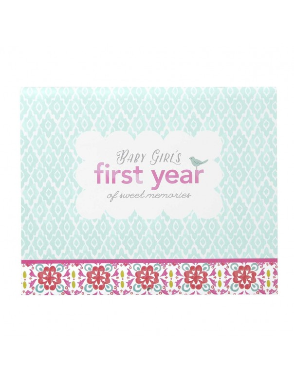 C.R. Gibson Baby's First Year Calendar - Pretty Patterns