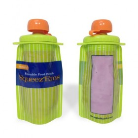 Squeez'ems Reusable Food Pouches