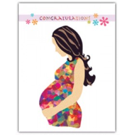 Little Seashell Greeting Card - Congratulations Pregnancy