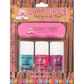 Piggy Paint Non-Toxic Nail Polish 3 Pack