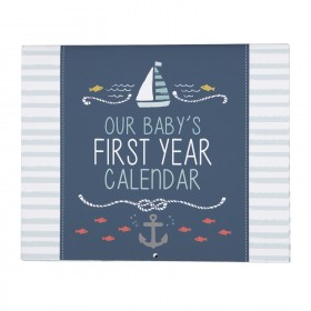 C.R. Gibson Baby's First Year Calendar - Under The Sea