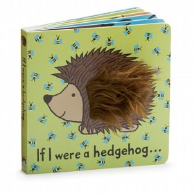 Jellycat If I Were A Hedgehog Board Book