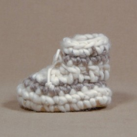 Padraig Cottage Newborn Slippers
