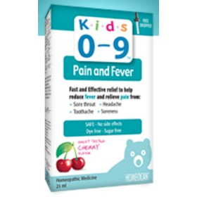 Homeocan Kids 0-9 Pain and Fever Oral Solution