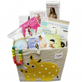 Cheeky Monkey Pregnancy Box Gift Basket