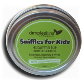 Dimpleskins Sniffles For Kids Eucalyptus Rub