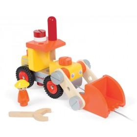 Janod DIY Bulldozer