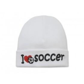 Itty Bitty Baby I Love Soccer Cap