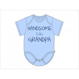 Itty Bitty Baby Handsome Like Grandpa Onesie