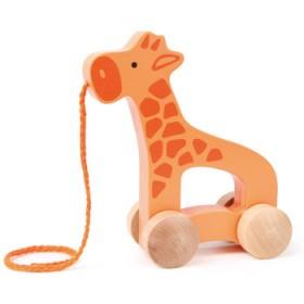 Hape Toys Giraffe Push & Pull