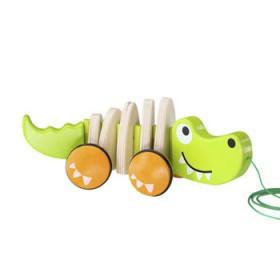 Hape Toys Walk-A-Long Crocodile