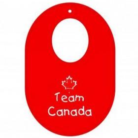 Itty Bitty Baby Team Canada Bib