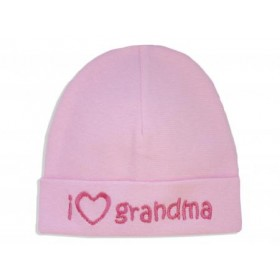 Itty Bitty Baby I Love Grandma Cap