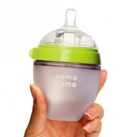 Comotomo Natural-Feel Silicone Baby Bottle