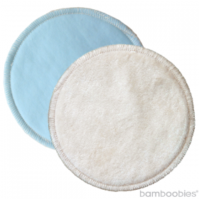 Bamboobies Reusable Nursing Pads - Overnight