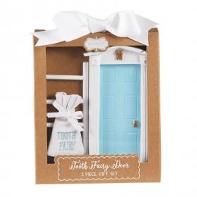 Mud Pie Blue Tooth Fairy Door