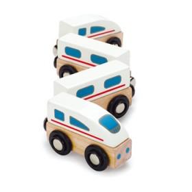 Hape Toys Magnetic Bullet Train
