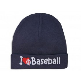 Itty Bitty Baby I Love Baseball Cap