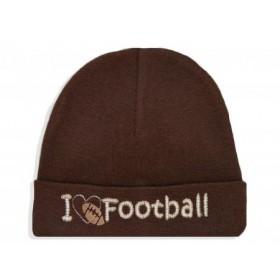 Itty Bitty Baby I Love Football Cap