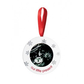Pearhead Sonogram Holiday Ornament
