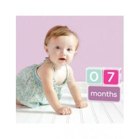 Pearhead Pink Age Block Set