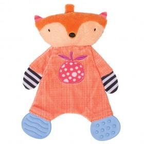Manhattan Toy Teether Fox Blankie