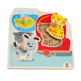 Hape Toys My Pets Knob Puzzle