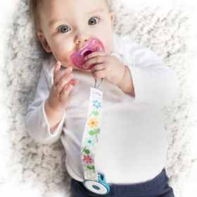 JJ Cole Collections Pacifier Clip