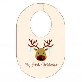 Itty Bitty Baby My First Christmas Bib