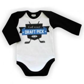 Itty Bitty Baby First Round Draft Pick Onesie