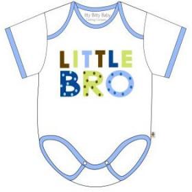 Itty Bitty Baby Little Bro Onesie