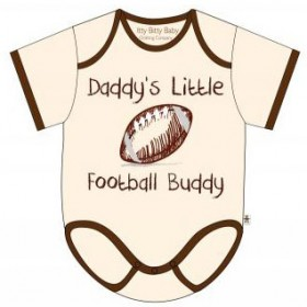Itty Bitty Baby Daddy's Little Football Buddy Onesie