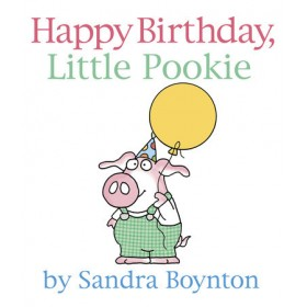 Happy Birthday, Little Pookie Board Book