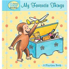 Curious George My Favorite Things Padded Board Book